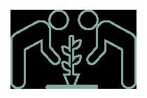 Bioecon se trata de personas ayudando a personas de manera voluntaria y descentralizada.